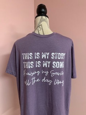 """""""This is My Story"""" Short Sleeve Tee"""