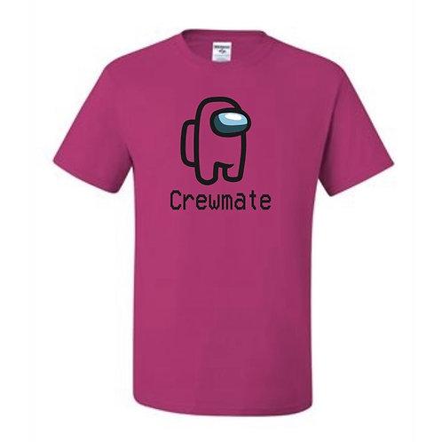 """""""Crewmate"""" Adult Short Sleeve Tee"""