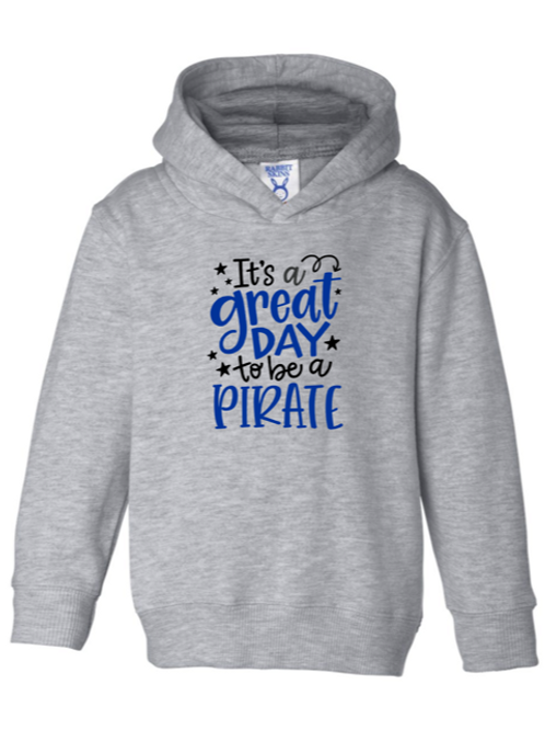 """Great Day"" Toddler Hooded Sweatshirt"