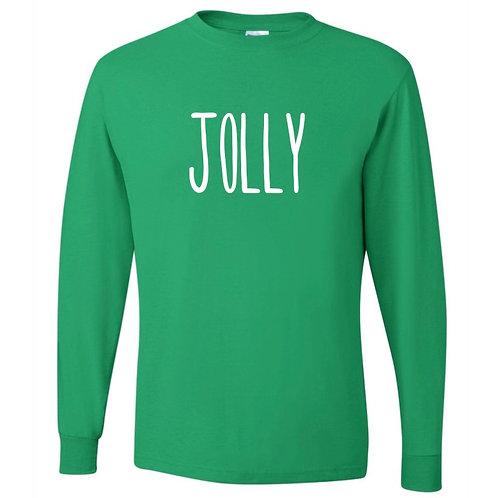 """Jolly"" Adult Long Sleeve Tee"
