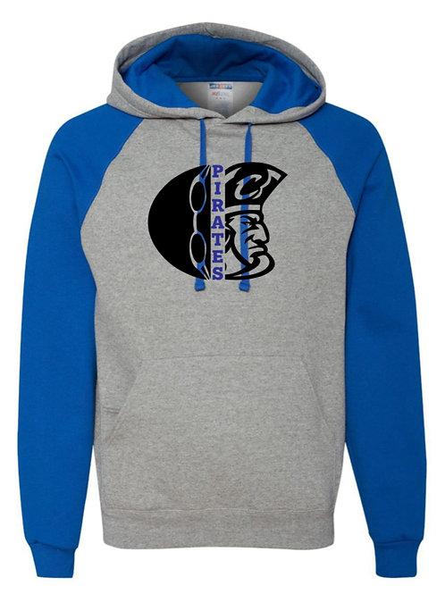 Hooded Raglan Sweatshirt