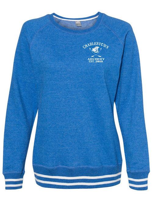 """Let Your Arrows Fly"" Women's Relay Crewneck Sweatshirt"