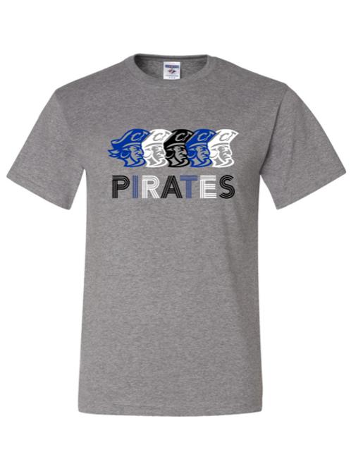 """Pirates"" Adult Short Sleeve Tee"