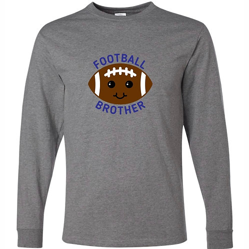 """Football Brother"" Long Sleeve Tee"