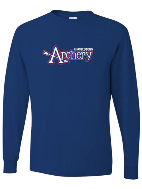 """Charlestown Archery"" Adult Long Sleeve Tee"