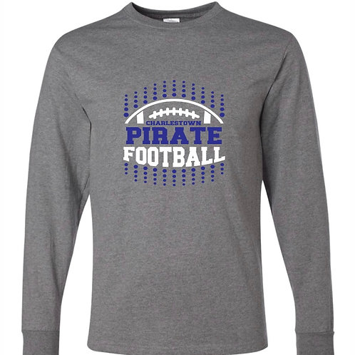 """Pirate Football"" Long Sleeve Tee"