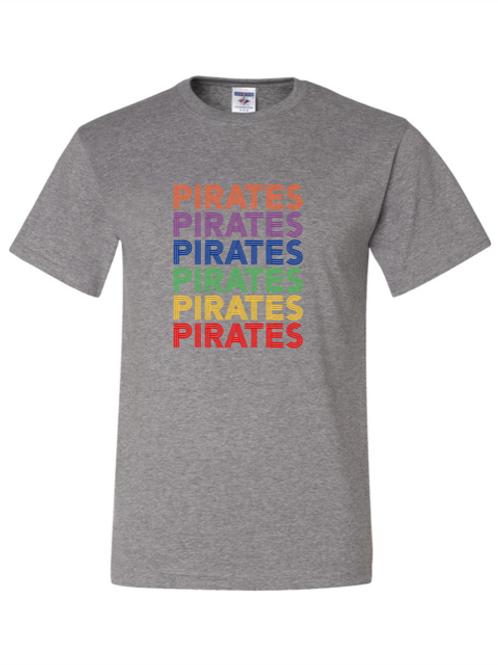 """Pirates"" Repeat Adult Short Sleeve Tee"