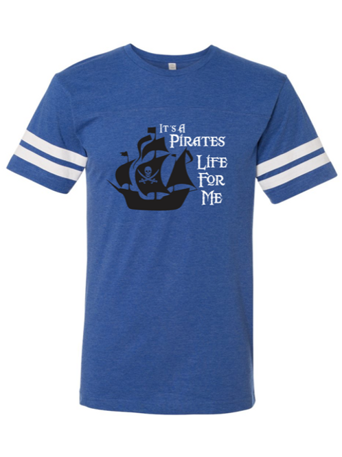 """""""Pirates Life"""" Youth Football Jersey Tee"""
