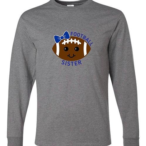 """Football Sister"" Long Sleeve Tee"