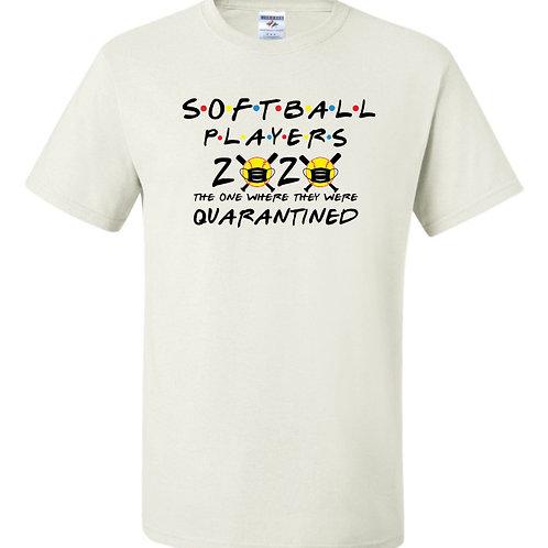 """Softball Players"" Short Sleeve Tee"