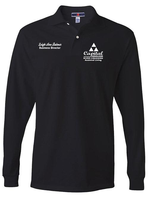 """River Crossing"" Long Sleeve Sport Shirt"