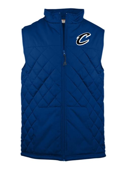 """""""C"""" Logo Adult Embroidered Vest"""