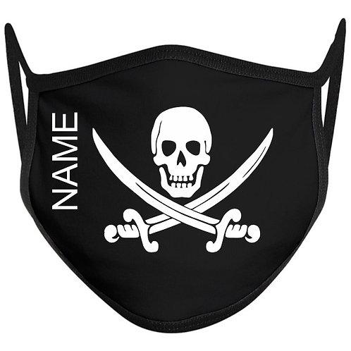 Skull & Swords Adult Face Mask