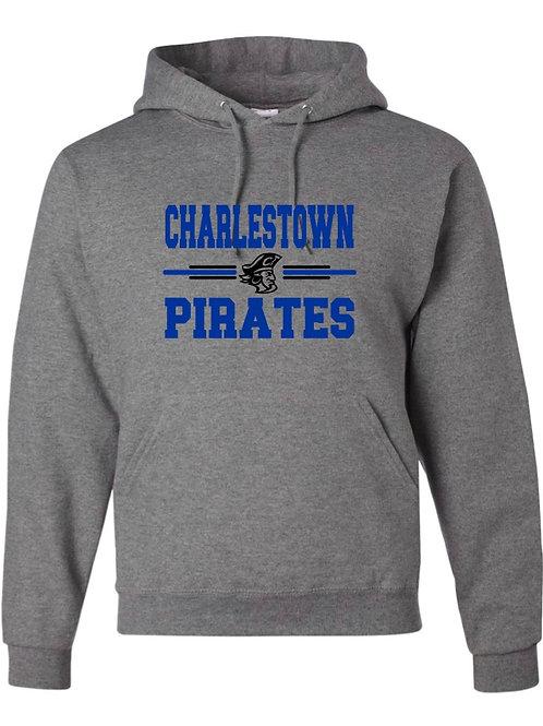 """""""Charlestown Pirates"""" Hooded Sweatshirt"""