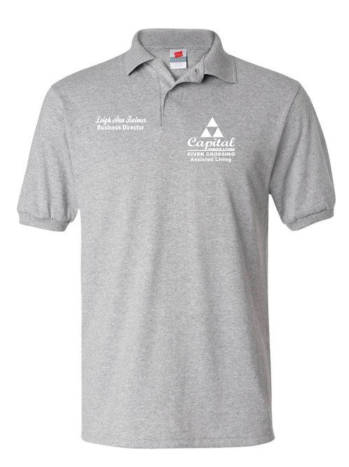 """River Crossing"" Short Sleeve Sport Shirt"
