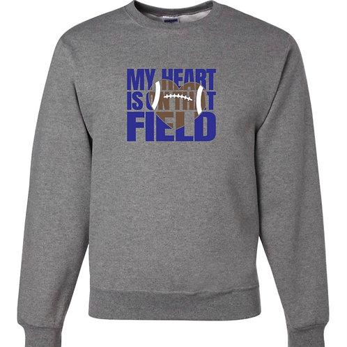 """My Heart is On That Field"" Crewneck Sweatshirt"