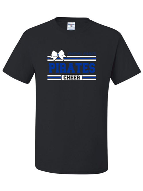 """Pirates Cheer"" Adult Short Sleeve Tee"