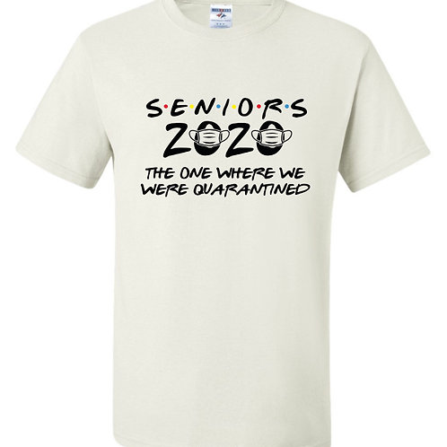 """Seniors 2020"" Short Sleeve Tee"