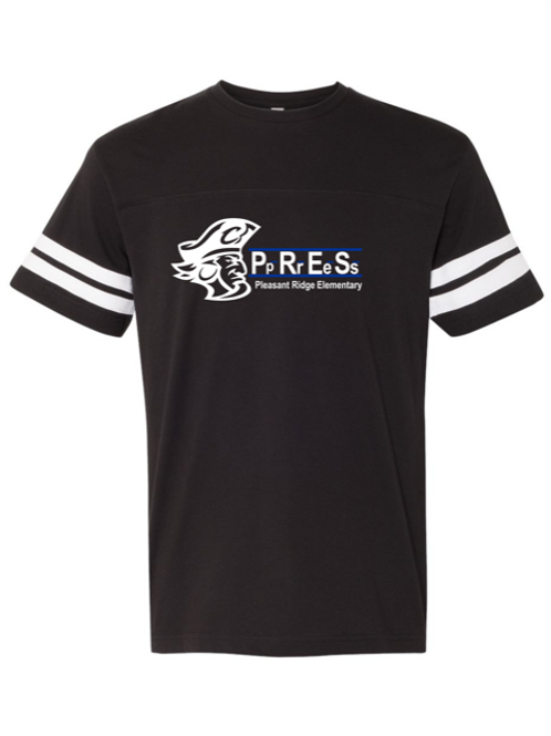 """P.R.E.S."" Youth Football Jersey Tee"