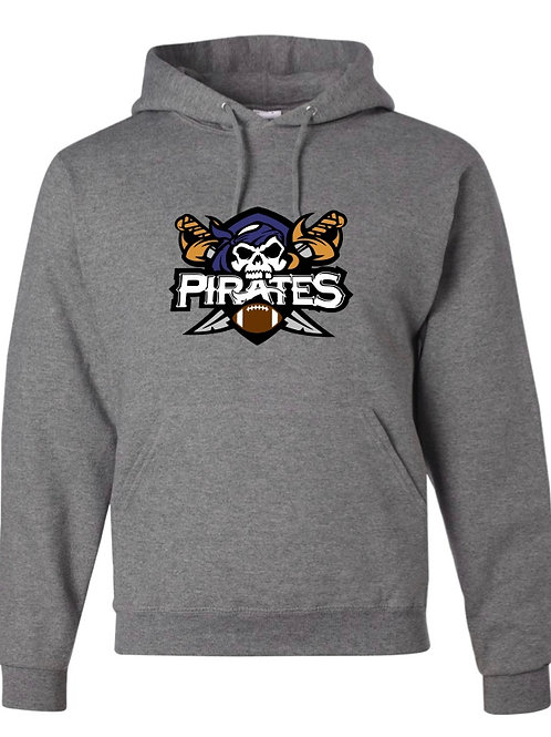 """Pirates"" Hooded Sweatshirt"