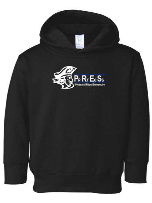 """P.R.E.S."" Toddler Hooded Sweatshirt"