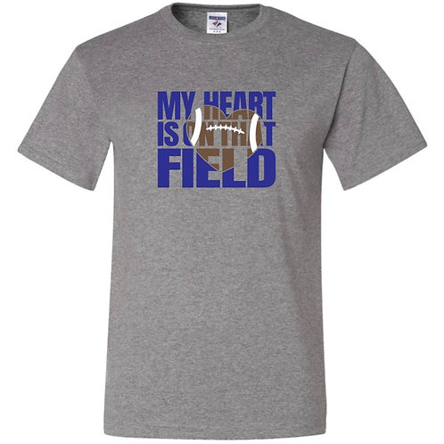 """My Heart is On That Field"" Short Sleeve Tee"