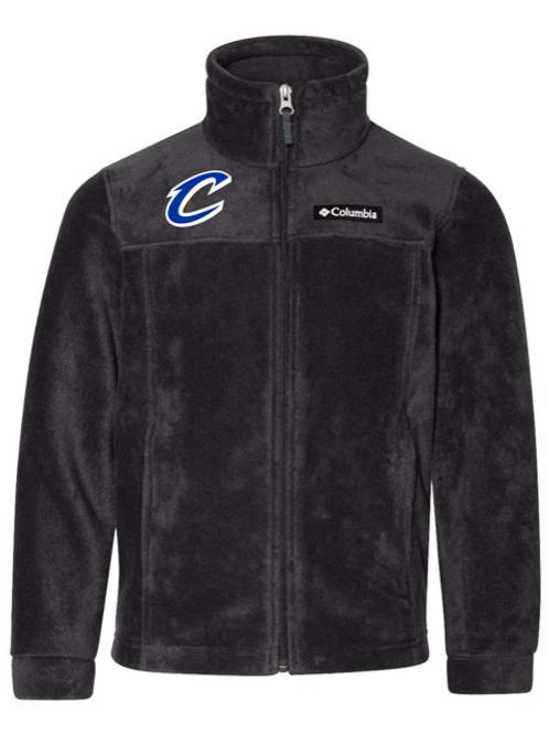"""""""C"""" Logo Adult Columbia Fleece Jacket"""