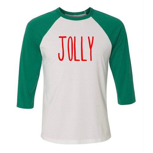 """Jolly"" Adult Baseball Tee"