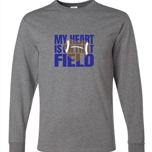 """My Heart is On That Field"" Long Sleeve Tee"