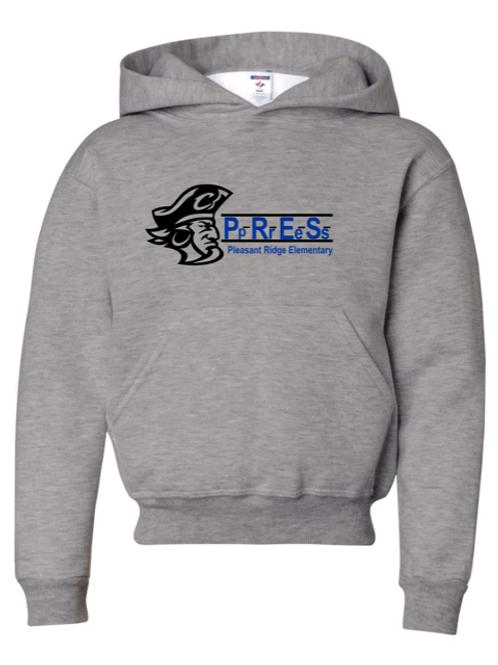 """P.R.E.S."" Youth Hooded Sweatshirt"