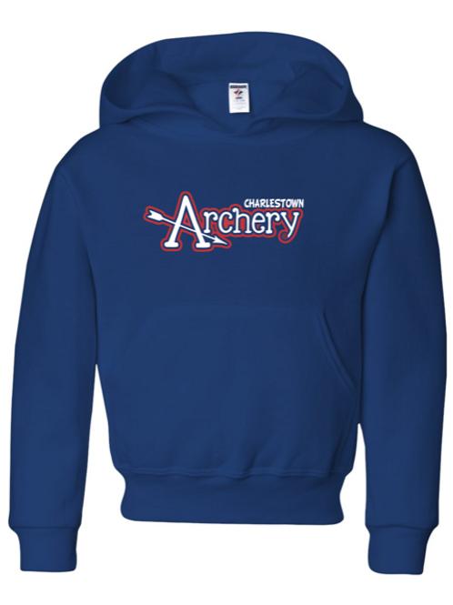 """Charlestown Archery"" Youth Hooded Sweatshirt"