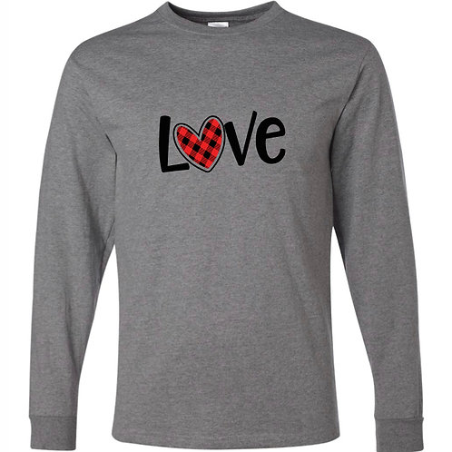 """Love"" Long Sleeve Tee"