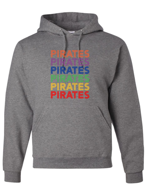 """Pirates"" Repeat Youth Hooded Sweatshirt"