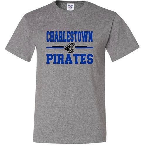 """""""Charlestown Pirates"""" Short Sleeve Tee"""
