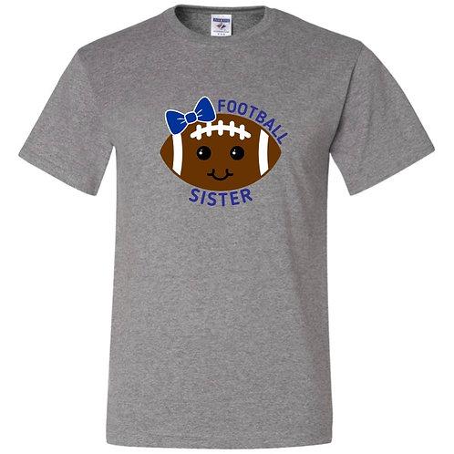 """Football Sister"" Short Sleeve Tee"