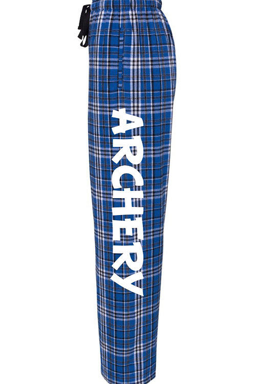 """Archery"" Flannel Pants w/ Pockets"