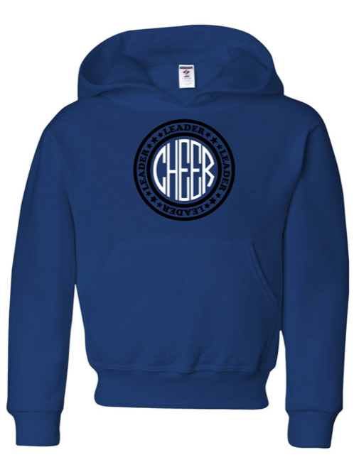 """Cheer"" Adult Hooded Sweatshirt"