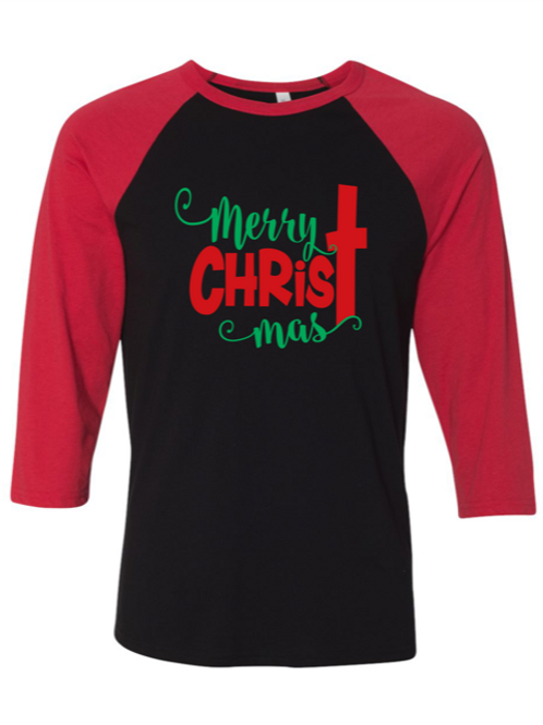 """""""Merry CHRISTmas"""" Adult Pajama Set"""