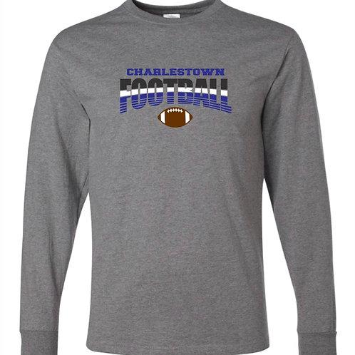 """Charlestown Football"" Long Sleeve Tee"