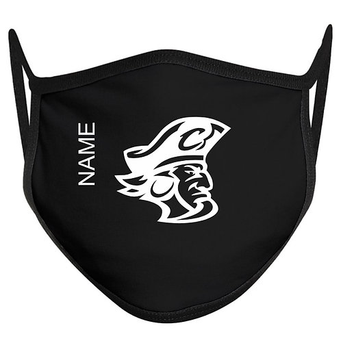 Pirate Head Face Adult Mask