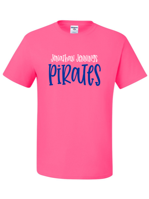 """J.J. Pirates"" Youth Short Sleeve Tee"
