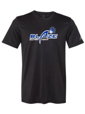 """Blaze"" Adidas Adult Short Sleeve Tee"