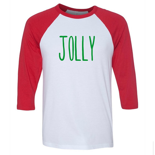 """""""Jolly"""" Youth Baseball Tee"""