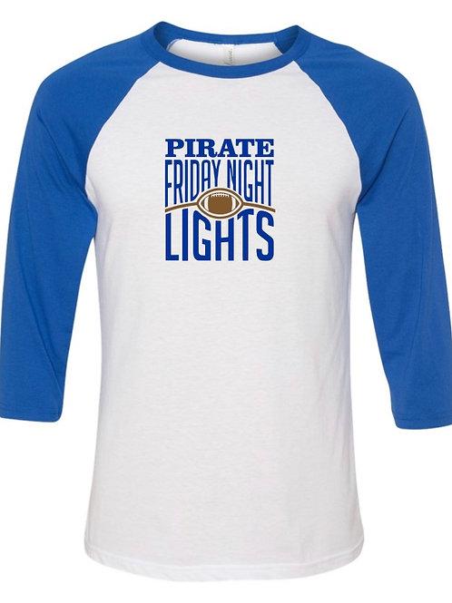 """Friday Night Lights"" Baseball Tee"