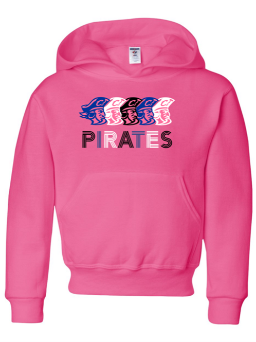 """Pirates"" Adult Hooded Sweatshirt"