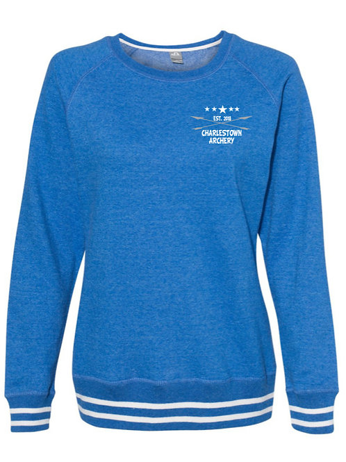 """Archery Life"" Women's Relay Crewneck Sweatshirt"
