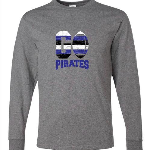 """Go Pirates"" Long Sleeve Tee"