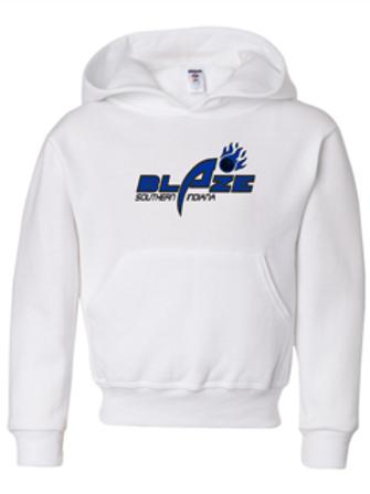 """""""Blaze"""" Youth Hooded Sweatshirt"""