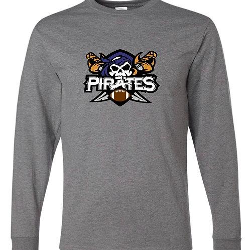 """Pirates"" Long Sleeve Tee"