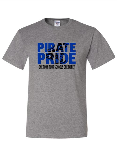 """""""Pirate Pride"""" Adult Short Sleeve Tee"""